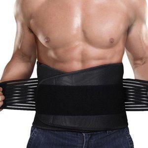 Lower Back Support Brace Double-Pull Lumbar Belt